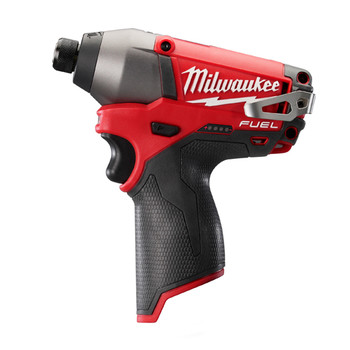Factory Reconditioned Milwaukee 2453-80 M12 FUEL Cordless Lithium-Ion 1/4 in. Hex Impact Driver (Tool Only)