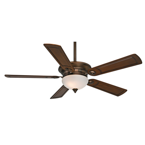 Casablanca 59061 54 in. Transitional Whitman Bronze Patina Walnut Indoor Ceiling Fan