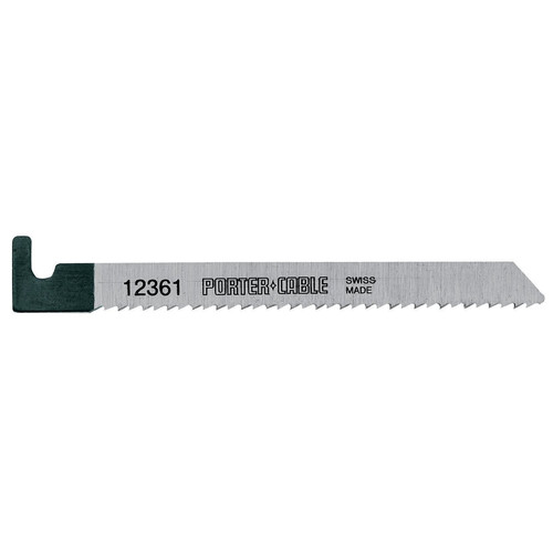 Porter-Cable 12361-5 4-1/4 in. 10 TPI Wood Cutting Hook Shank Bayonet Saw Blade (5-Pack)
