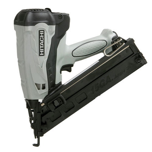 Hitachi NT65GAP9 15-Gauge 2-1/2 in. Cordless HXP Lithium-Ion Angle Finish Nailer image number 0
