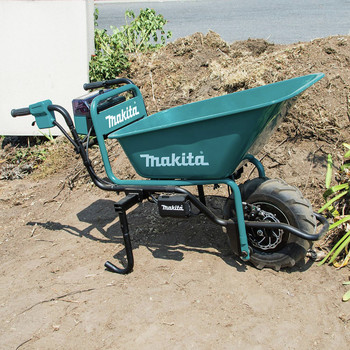 Makita XUC01X1 18V X2 LXT Brushless Cordless Power-Assisted Wheelbarrow (Tool Only) image number 9