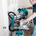 Makita LS1019L 10 in. Dual-Bevel Sliding Compound Miter Saw with Laser image number 8