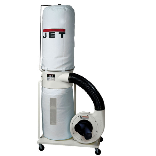 JET DC-1200VX-BK3 Vortex 230V/460V 2HP Three-Phase Dust Collector with 30-Micron Bag Filter Kit image number 0