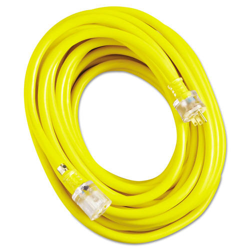 CCI 2688SW0002 50 ft. Vinyl Extension Cord (Yellow) image number 0