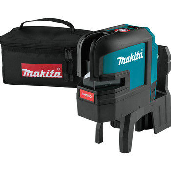 Makita SK106DZ 12V MAX CXT Lithium-Ion Cordless Self-Leveling Cross-Line/4-Point Red Beam Laser (Tool Only) image number 0