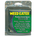 Weed Eater 952711551 0.08 in. x 25 ft. Blue String Trimmer Replacement Spool