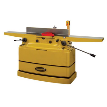 Powermatic PJ-882HH 230V 1-Phase 2-Horsepower 8 in. Parallelogram Jointer With Helical Cutterhead