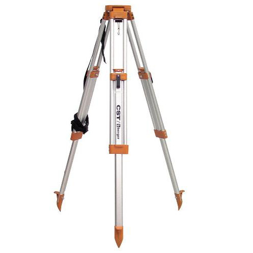 CST/berger 60-ALQCI20-O Contractor's Aluminum Flat Head Tripod with Quick Release