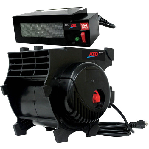 ATD 40300HTR 300 CFM Pro Air Blower with FREE Heater Attachment for 300 CFM Blower