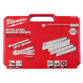 Milwaukee 48-22-9004 1/4 in. Drive 50pc Ratchet & Socket Set (SAE & Metric) image number 4