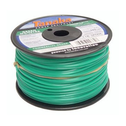 Tanaka 746601 0.155 in. x 525 ft. Green Monster Commercial Grade Trimmer Line Spool (5 lb.)