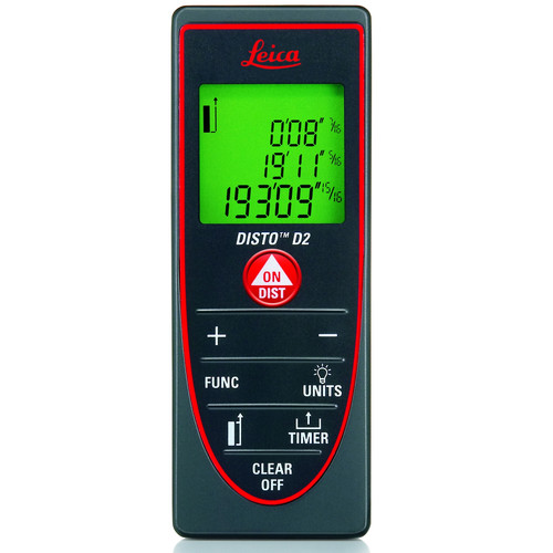 Leica D2 DISTO 330 ft. Laser Distance Meter with Bluetooth 4.0