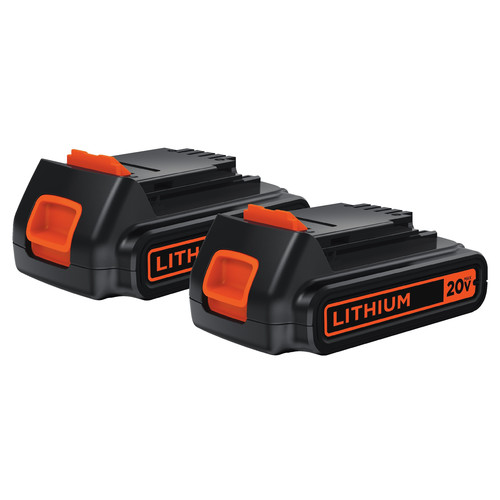 Black & Decker LBXR20-OPE2 20V MAX Lithium-Ion Battery Pack (2-Pack)