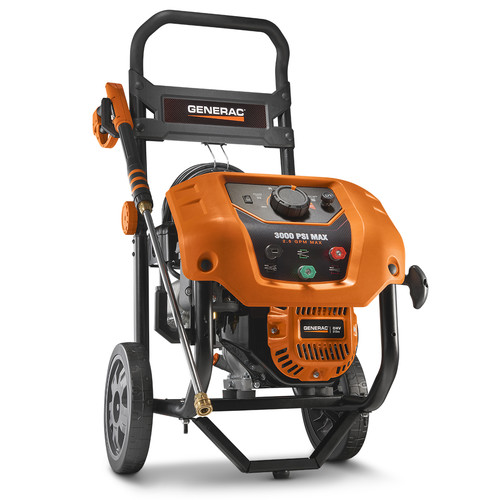 Factory Reconditioned Generac 6809R 2,000 - 3,000 PSI Variable Residential Power Washer