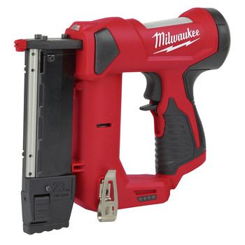 Milwaukee 2540-20 M12 Compact Lithium-Ion 23 Gauge Cordless Pin Nailer (Tool Only)