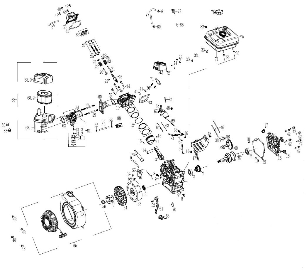 Quipall 242910 Air Cleaner Assembly For 2700gpw And 3100gpw 3100 Engine Diagram Media Qpl Qpln242910 Documents