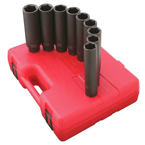 Sunex 2851 12-Piece 1/2 in. Drive Impact Socket Set image number 0
