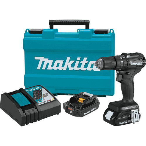 Makita XPH11RB 18V LXT Lithium-Ion Brushless Sub-Compact 1/2 in. Cordless Hammer Drill Driver Kit (2 Ah) image number 0
