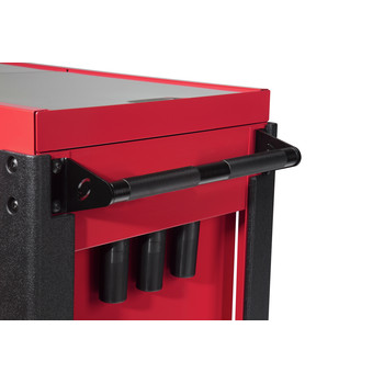 Sunex 8035XT 3 Drawer Slide Top Utility Cart with Power Strip (Red) image number 6