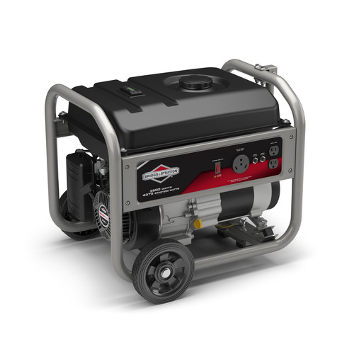 Briggs & Stratton 30676 4,375 Watt 208cc Gas Powered Portable Generator