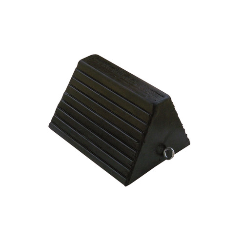AME International 15300 Molded Rubber Wheel Chock image number 0