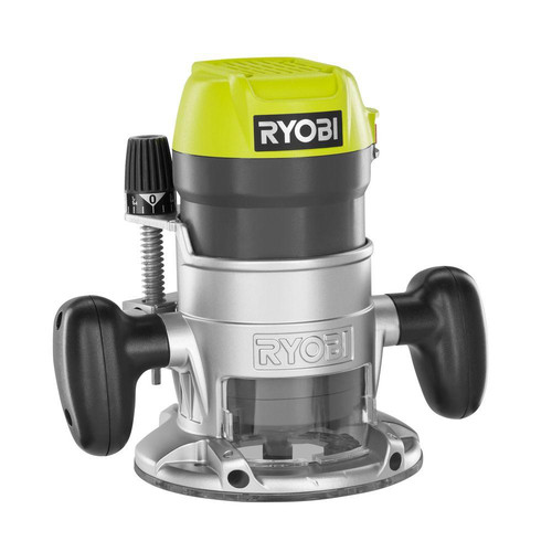 Factory Reconditioned Ryobi ZRR163GK 8 5 Amp 1-1/2 HP Fixed Base Router  (Green)