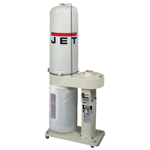 JET DC-650BK 1 HP 650 CFM Dust Collector with 30-Micron Bag