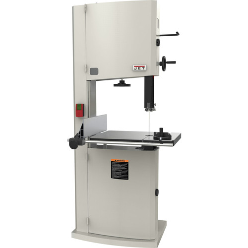 JET JWBS-20-3 230V 3 HP 1-Phase 20 in. Vertical Steel Frame Band Saw
