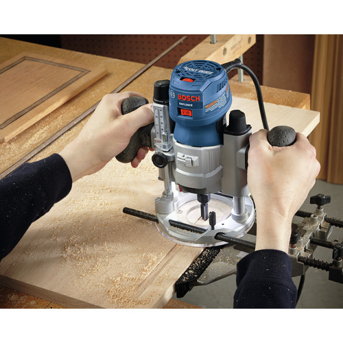 Bosch GKF125CEPK Colt 1.25 HP Variable-Speed Palm Router Combination Kit (7 Amp) image number 14