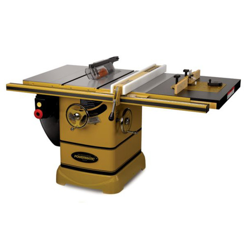 Powermatic PM2000 5 HP 10 in. Three Phase Left Tilt Table Saw with 30 in. Accu-Fence with Rout-R-Lift and Riving Knife