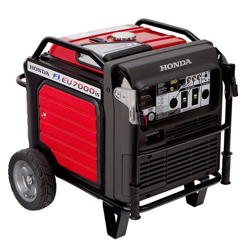 Honda EU7000iAT1 7,000 Watt Super Quiet Portable Inverter Generator with Electric Start