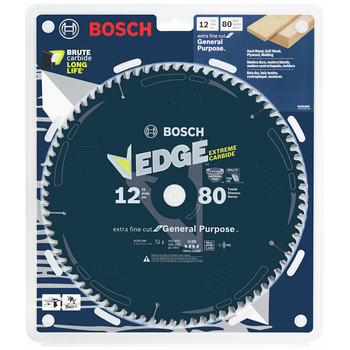 Bosch DCB1280 Daredevil 12 in. 80 Tooth Extra-Fine Circular Saw Blade image number 1