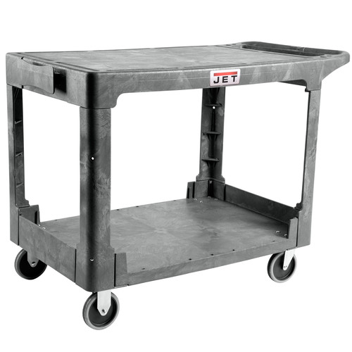 JET 141017 Resin Flat Top Utility Cart image number 0