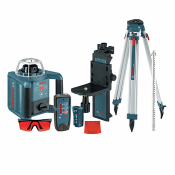 Bosch GRL300HVCK Self-Leveling Rotary Laser with Layout Beam Complete Kit image number 0