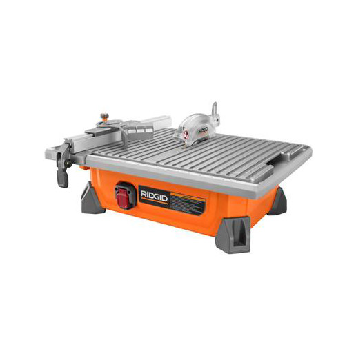 Factory Reconditioned Ridgid ZRR4020 7 in. Portable Job-Site Wet Tile Saw