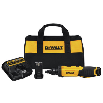 Factory Reconditioned Dewalt DCF681N2R 8V MAX Gyroscopic Screwdriver With Conduit Reamer