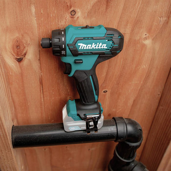 Makita FD10Z 12V max CXT Lithium-Ion Hex Brushless 1/4 in. Cordless Drill Driver (Tool Only) image number 6