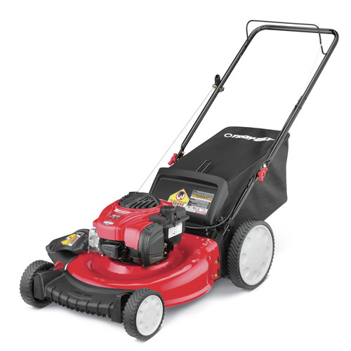 Troy-Bilt 11A-B2BM766 21 in. 3-in-1 Push Mower with Briggs & Stratton 140cc OHV Engine image number 0