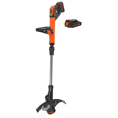 Black & Decker LSTE525 20V MAX 1.5 Ah Cordless Lithium-Ion EASYFEED 2-Speed 12 in. String Trimmer/Edger Kit