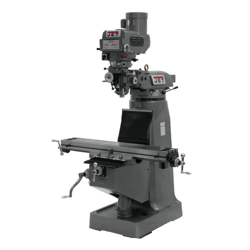 JET JTM-4VS Mill with 3-axis NEWALL DP700 DRO Quill