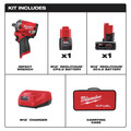 Milwaukee 2555-22 M12 FUEL Stubby 1/2 in. Impact Wrench Kit with Friction Ring image number 13