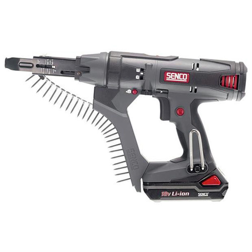 SENCO DS215-18V 18V 1.5 Ah Cordless Lithium-Ion 2 in. Auto-Feed Screwdriver