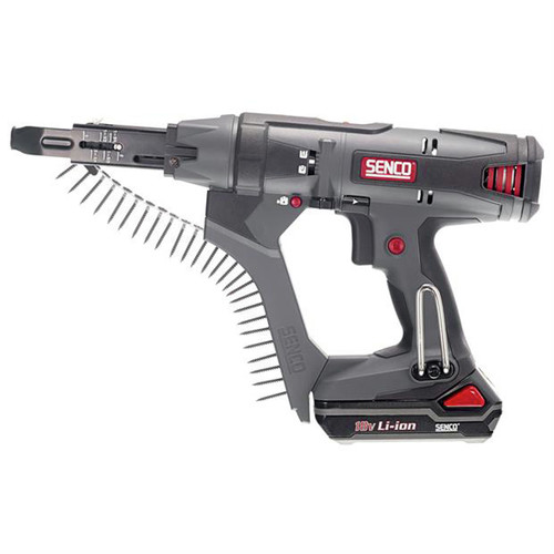 SENCO DS212-18V 18V 1.5 Ah Cordless Lithium-Ion 2 in. Auto-Feed Screwdriver