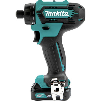 Makita FD10R1 12V max CXT Lithium-Ion Hex Brushless 1/4 in. Cordless Drill Driver Kit (2 Ah) image number 2
