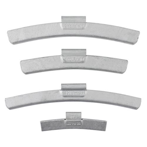 AMMCO BTSFE600 25-Piece BTSFE Coated Steel 6 oz. Clip-On Wheel Weight Set image number 0