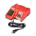 Milwaukee 2695-24 M18 18V Lithium-Ion 4-Tool Combo Kit image number 9