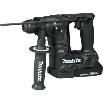 Makita XRH06RBX 18V LXT Lithium-Ion Sub-Compact Brushless 11/16 in. Rotary Hammer Kit, accepts SDS-PLUS bits, 65 Pc. Accessory Set image number 2