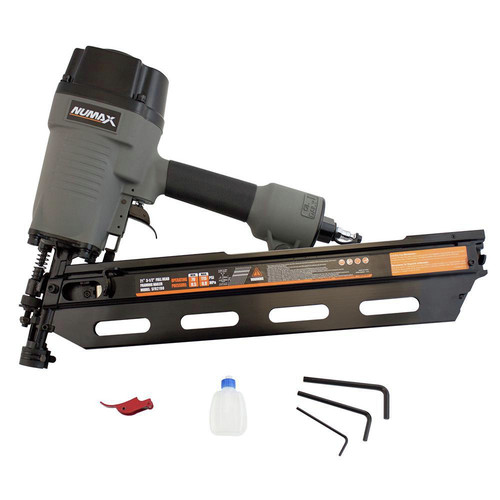 NuMax SFR2190 21 Degree 3-1/2 in. Full Rounded Framing Nailer image number 0