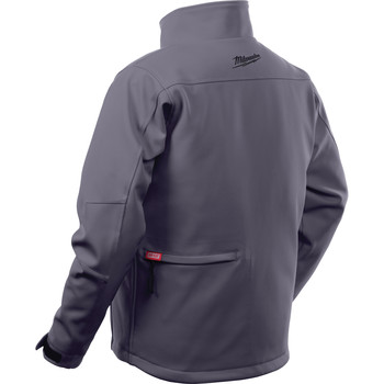 Milwaukee 202G-212X M12 Heated TOUGHSHELL Jacket Kit - Gray, 2X image number 3