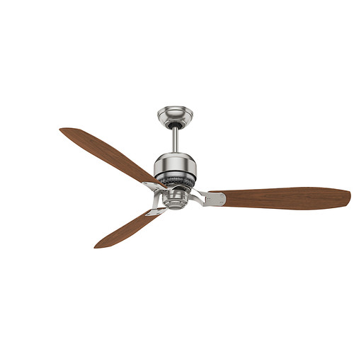 Casablanca 59504 60 in. Tribeca Brushed Nickel Ceiling Fan with Remote